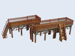 XIX Century Walkway ( marche Steampuck skirmich game )