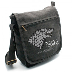 "GAME OF THRONES - Sac Besace """"Stark"" Petit Format"