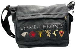 "GAME OF THRONES - Sac Besace """"Sigles"" Grand Format"
