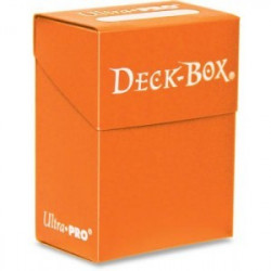 Ultra Pro - Deck BOX Orange