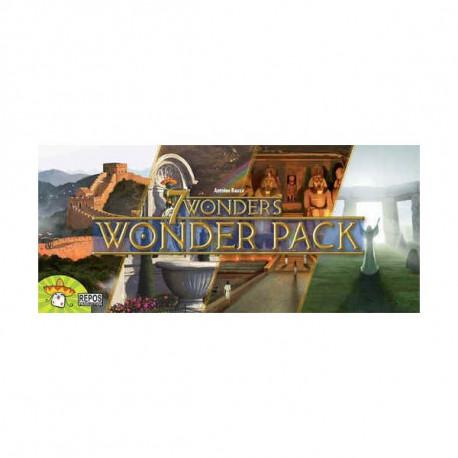 7 Wonders - Wonder Pack pas cher