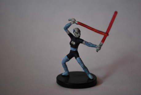 01/40 Asajj Ventress, Strike Leader Galaxy at Wars Rare pas cher