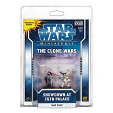 Booster de 2 figurines CLONE WARS Teth Palace Map Pack 2 pas cher