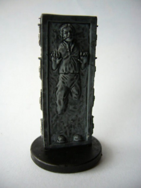 07/60 Han Solo in Carbonite FORCE UNLEASHED very rare pas cher