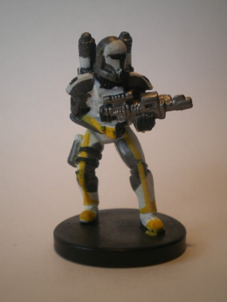 35/60 Republic Commando Scorch CHAMPION OF THE FORCE commune pas cher