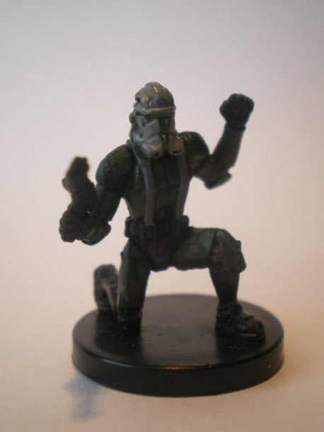 23/60 Clone Commander Gree CHAMPION OF THE FORCE rare pas cher