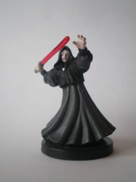 59/60 Emperor Palpatine Sith Lord REVENGE OF THE SITH very rare pas cher