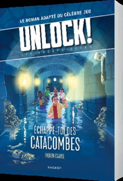 UNLOCK! ESCAPE GEEKS ÉCHAPPE-TOI DES CATACOMBES (précommande fin octobre)
