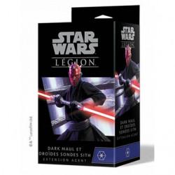 Star Wars : Légion - Légion - Dark Maul et Droïdes Sondes Sith (précommande novembre)