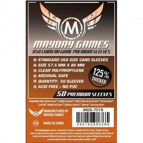 Protège Cartes Usa Chimera Premium Sleeves - 57.5x89mm (x50) MAYDAY GAMES