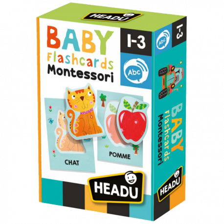 BABY FLASHCARDS MONTESSORI
