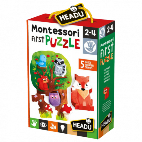 MONTESSORI FIRST PUZZLE THE FOREST