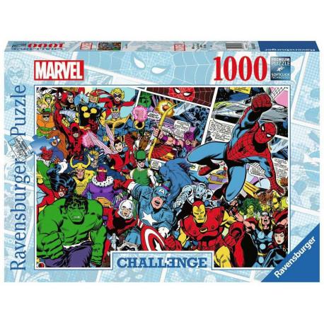 Marvel puzzle Challenge Comics (1000 pièces) Puzzles Marvel