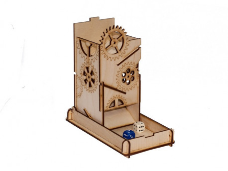 Lanceur de dé STEAM PUCK BOX - raptor dice tower