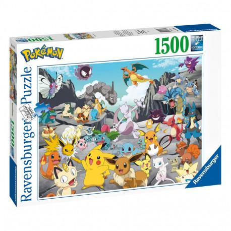 Pokémon puzzle Pokémon Classics (1500 pièces)