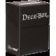 ULTRA PRO : DECK BOX 75 CARTES NOIR NACRÉ