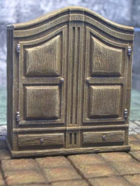 Armoire - décor pour figurines 25 mm 79123 ZITERDES