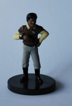 16/40 Lando Calrissian, Rebel Leader Master of the Force Rare