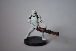 23/40 Clone Trooper With Repeating Blaster Galaxy at Wars Unco