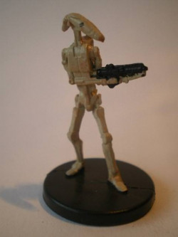 22/60 Battle Droid CLONE WARS commune