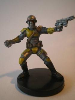 56/60 Mandalorian Captain KNIGHTS OF THE OLD REPUBLIC unco