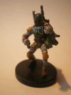 53/60 Boba Fett Mercenary Commander LEGACY OF THE FORCE very rare