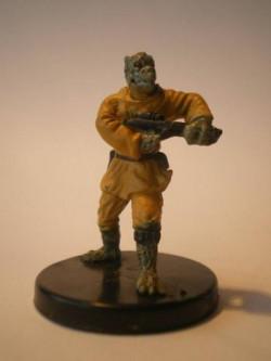 52/60 Trandoshan Mercenary LEGACY OF THE FORCE commune