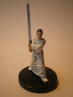 35/60 Leia Organa Solo Jedi Knight LEGACY OF THE FORCE very rare
