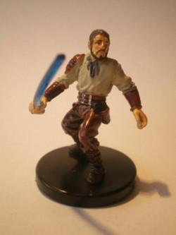 34/60 Kyle Katarn Jedi Battlemaster LEGACY OF THE FORCE very rare
