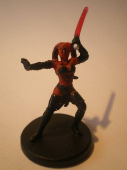 07/60 Darth Talon LEGACY OF THE FORCE very rare