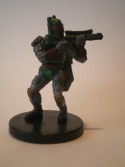 47/60 Boba Fett Mercenary FORCE UNLEASHED very rare