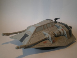 15/60 Luke's Snowspeeder FORCE UNLEASHED very rare