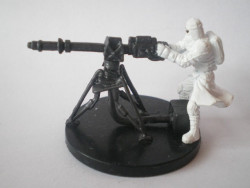 51/60 PROMO - Snowtrooper with E Web Blaster CHAMPION OF THE FORCE rare