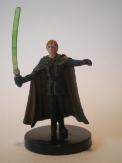 44/60 Luke Skywalker Young Jedi CHAMPION OF THE FORCE very rare