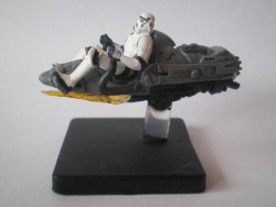 36/60 Stormtrooper on Repulsor Sled ALLIANCE ET EMPIRE very rare