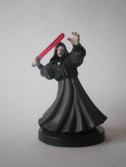 59/60 Emperor Palpatine Sith Lord REVENGE OF THE SITH very rare