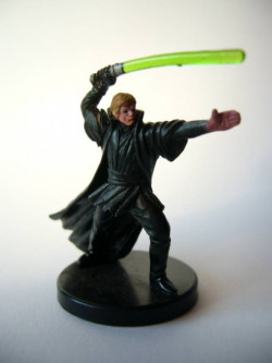 53/60 Luke Skywalker jedi master UNIVERSE very rare