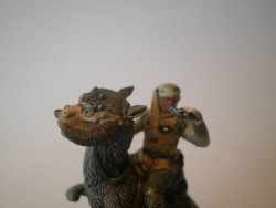 48/60 Luke Skywalker on Tauntaun UNIVERSE rare