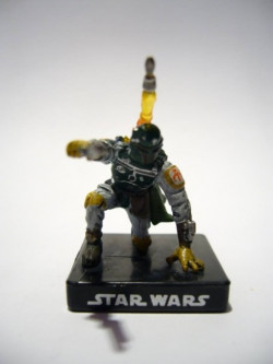 38/60 Boba Fett Enforcer ALLIANCE ET EMPIRE very rare