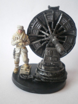 43/60 Hoth Trooper With Atgar Cannon CHAMPION OF THE FORCE rare