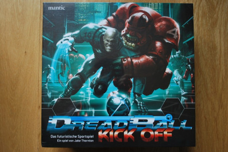 Dreadball Kick Off ( boitage allemand )