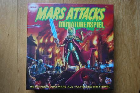 Mars Attacks - Le Jeu ( boitage allemand )