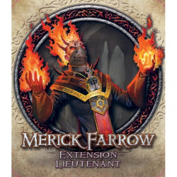 Descent Seconde Édition - Extension Lieutenant Merick Farrow