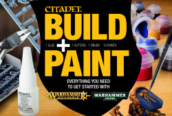 CITADEL BUILD + PAINT SET (FRANCAIS)