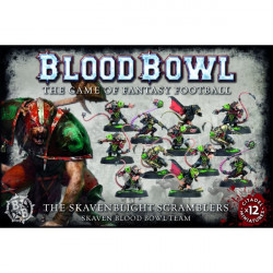 Blood Bowl : Team - The Skavenblight Scramblers