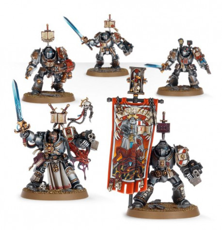 Grey Knights - Paladin Squad