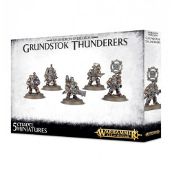 Age of Sigmar : Order - Kharadron Overlords Grundstock Thunderers