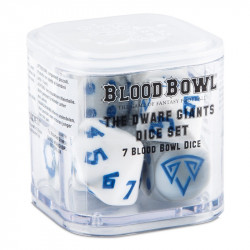 Blood Bowl : Set de Dés - Dwarf Giants - Nains