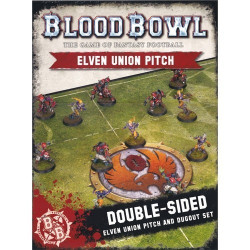 Blood Bowl : Elven Union Pitch & Dugout
