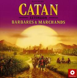 Les Colons de Catane - Extension Barbares et Marchands